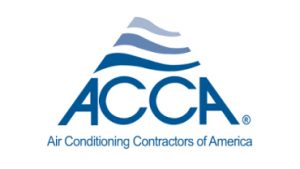ACCA air conditioning contractors of America